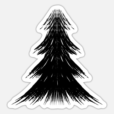 Stylized Stylized tree - Sticker