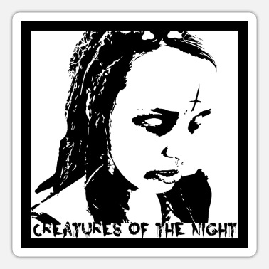 Zombie Creatures of the night transparent - Sticker