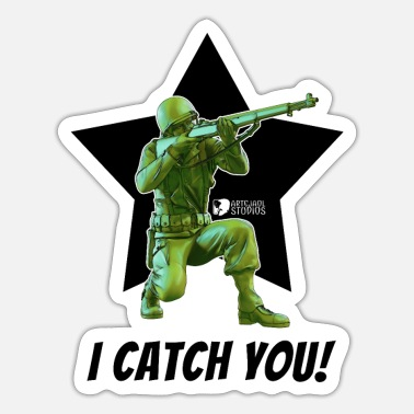 Ww2 WW2 USA Soldier - Sticker