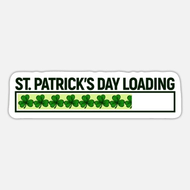 Irland St. Patricks Day Ladebalken Statement Lustig Paddy - Sticker