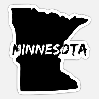 Minnesota Bundesstaat Minnesota - Sticker