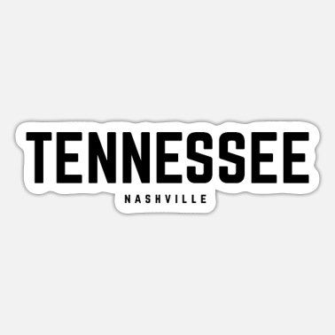 Countrymusic Tennessee Nashville - Sticker