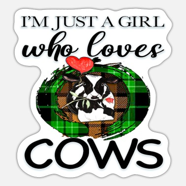 Farm Animal Cow farm animal - Sticker