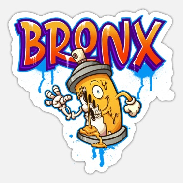 Beatbox Bronx graffiti - Sticker