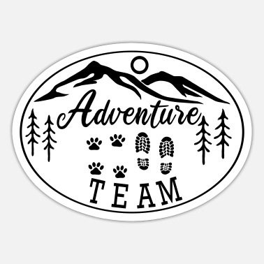 Hovawart Adventure Team dog saying dog lovers - Sticker
