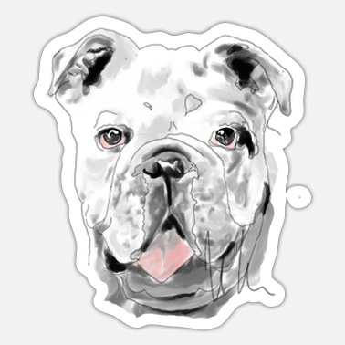 Bulldog Bulldog - Sticker