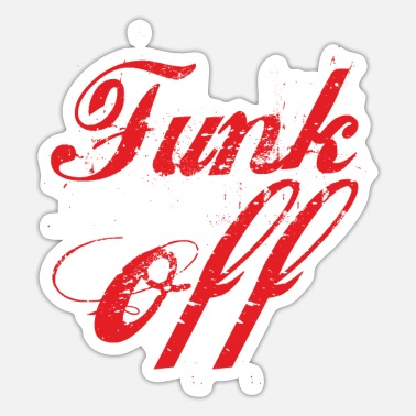 Funk Funk off - funk music - Sticker