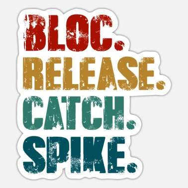 Spike Block Release Catch Spike - Sticker