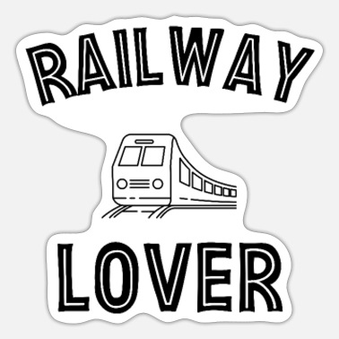 Railway Workers Railway Lover Train Railroad Workers Railway Train Driver - Sticker