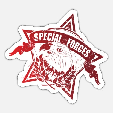 Special Forces Special forces graphic - Sticker
