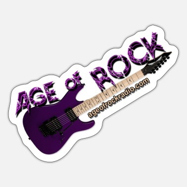 New Age New Age of Rock-logo (klein) - Sticker