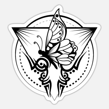 Tattoo Motiv Schmetterling Tattoo - Sticker