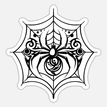 Tattoo Motiv Spinne Tattoo - Sticker