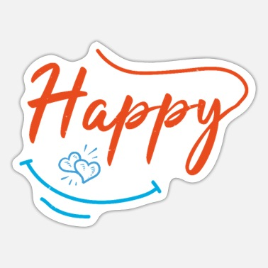 Optimism Happy - Sticker