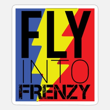 Speed Frenzy Fly frenzy at breakneck speed - Sticker