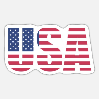 Stars And Stripes USA Stars and Stripes - Sticker