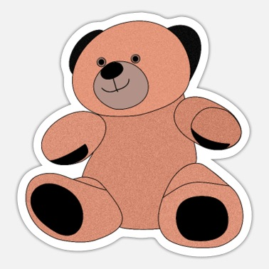 Bear, teddy - Sticker