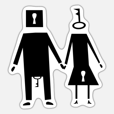 Couple couple couple - Sticker