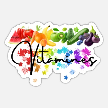 Vitamins Vitamins - Sticker
