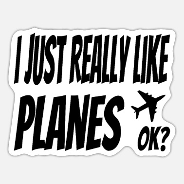 Pilot Pilot Air Force Flying Airline Copilot Gift - Sticker