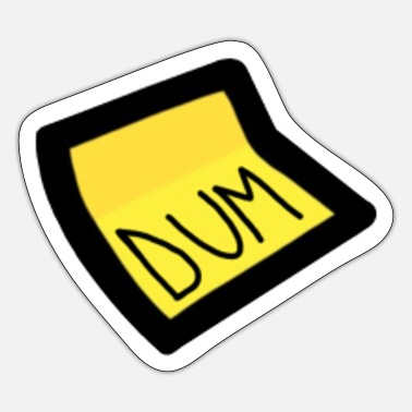 Us DUM Among Us Videospil - Sticker