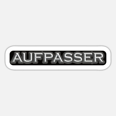Aufpasser Aufpasser Label - Sticker