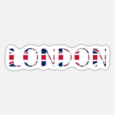 Uk Englanti UK UK lippu maa London City - Tarra