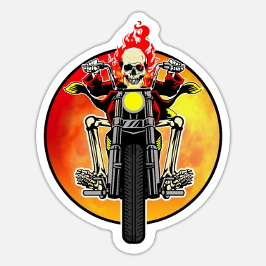 From Hell easy rider from hell - Sticker