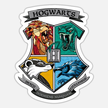 Coole Harry Potter Hogwarts Logo - Sticker