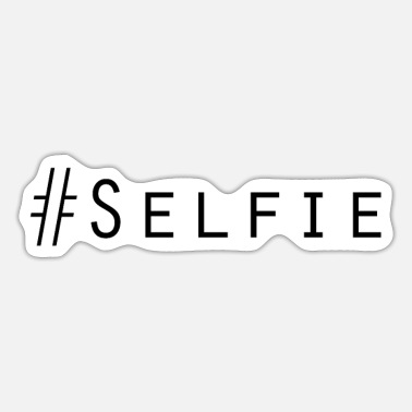 Selfie Salt fie stil - Sticker