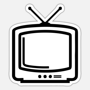 Tv tv - Sticker