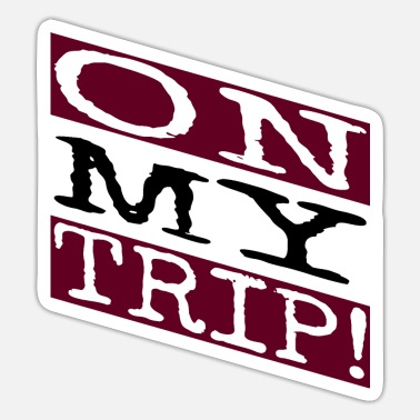 Travel Agent adventurous travel bug funny sayings outdoors - Sticker