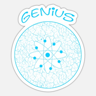 Genius Genius genius - Sticker