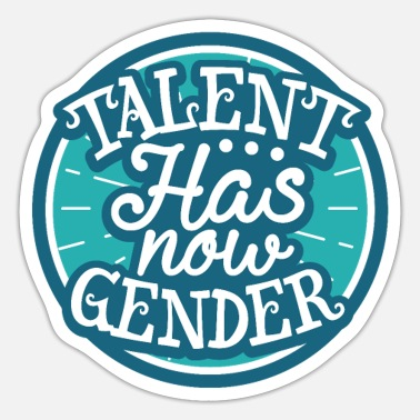 Talent Talent Gender - Sticker
