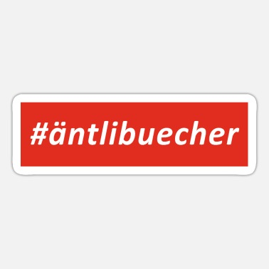 Marbach #äntlibuecher - Sticker