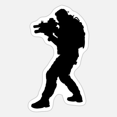 Special Forces Special forces soldier, special forces soldier KSK - Sticker