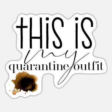 Outfit Quarantine Outfit - Sticker