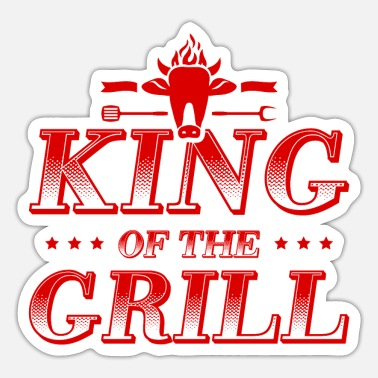 Grillmester Grill King King Grill Master - Sticker