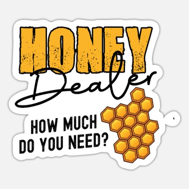 Imker Honey Dealer how much do you need? - Sticker