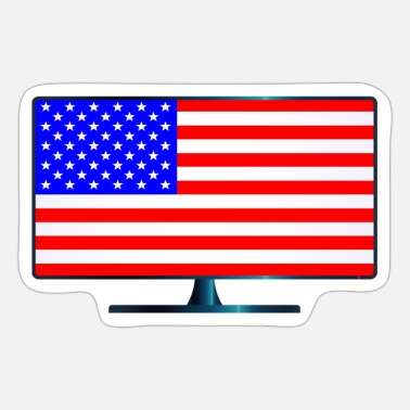 Stars And Stripes Stars And Stripes TV - Sticker