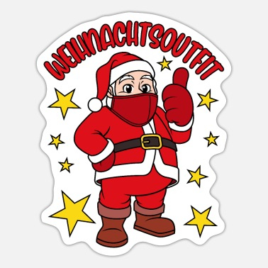 Outfit Weihnachtsoutfit 2020 - Sticker