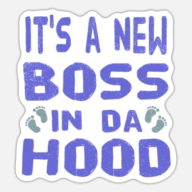 Baby Boss saying - Sticker