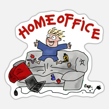 Home office - Sticker