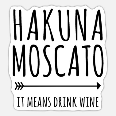 Wine Drinker Wine drinker funny saying wine drinker - Sticker