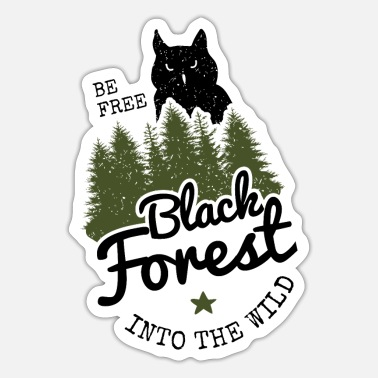 Black Forest Leible Into the wild - Sticker