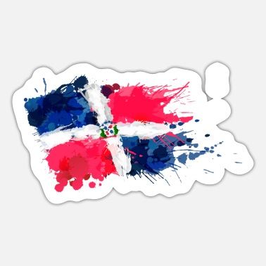 Bandera Bandera Aquarell - Sticker