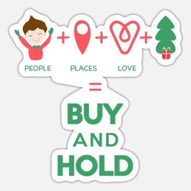 Buy And Hold Buy and Hold - Sticker