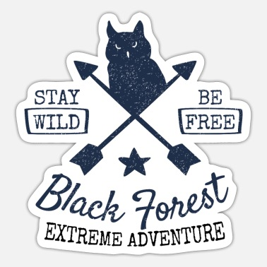 Black Forest Leible Extreme adventure - Sticker