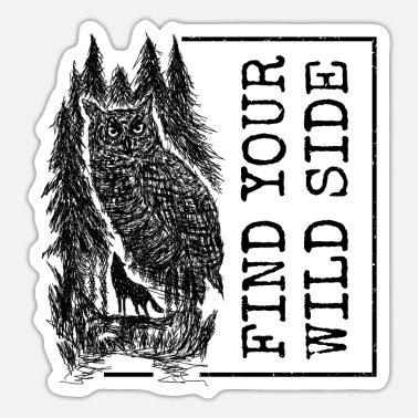 Black Forest Leible Find your wild side - Sticker