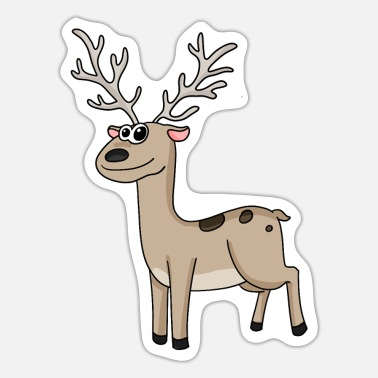 Animal Motif Deer animal motif - Sticker